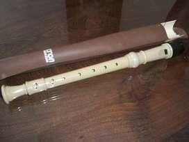 Flauta dulce. Marca Edelton.