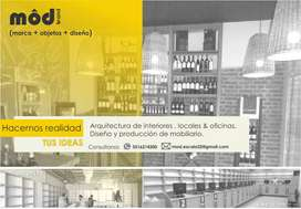 Arquitectura y diseño de locales