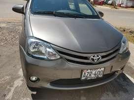 Toyota Etios de uso particular en buen estado