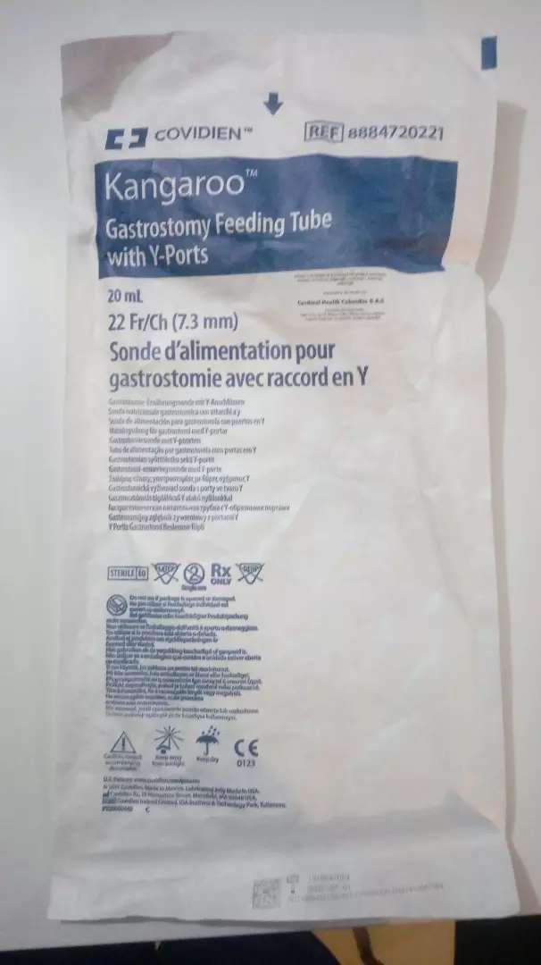Sonda de gastrostomia