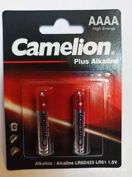 Pilas AAAA alcalinas marca Camelion