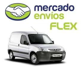 Servicio de Mensajeria en Auto y Camioneta Envios Flex Todo Caba y GBA