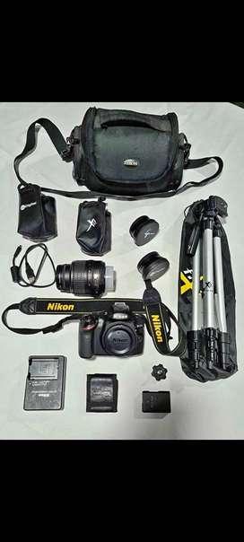 Vendo cámara profesional nikol 3200
