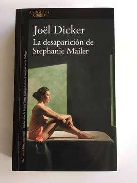Libro La Desaparición de Stephanie Mailer de Joël Dicker JoËl