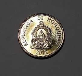 Moneda de Honduras sin circular de 2012, 5 centavos