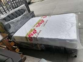 Colchón y base cama