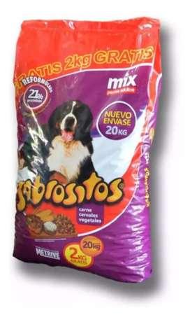 Sabrositos Perros Adultos Mix