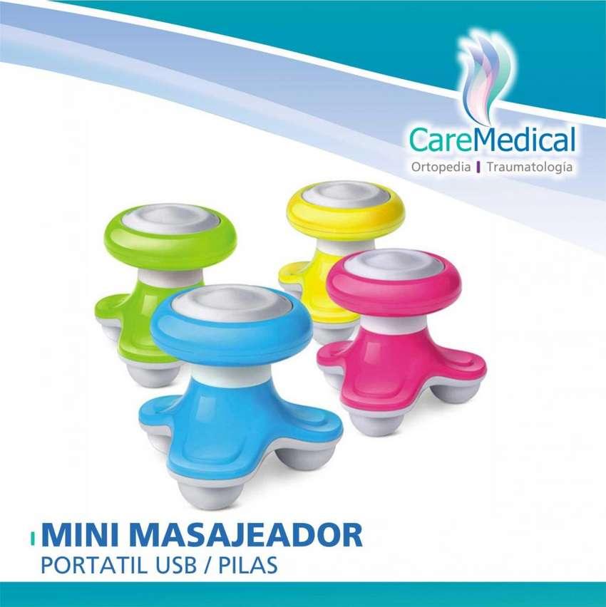 Masajeador Mini Portatil Usb - Pilas - Ortopedia Care Medical 0
