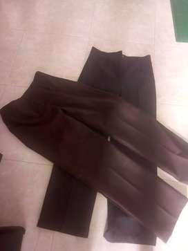 Pantalones en drill