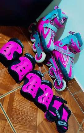 Patines semiprofeccionales, marca canariam SPEED FIGHTER