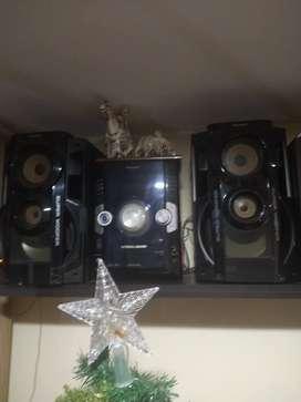 Equipo de sonido Panasonic SA-AKX700