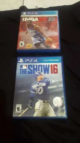 Vendo videos Juego ps4