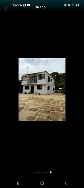 Se vende casa de descanso cerca a oiba