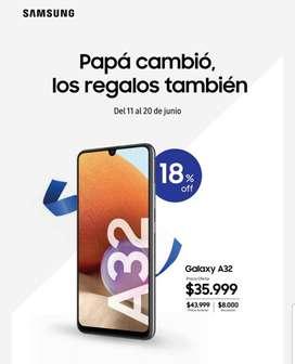 Samsung a32 PROMO DÍA DEL PADRE
