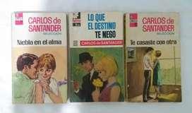 Carlos de santander corin tellado novelas romanticas