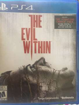 Juego the evil within ps4