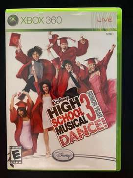 Juego high school musical 3 dance xbox 360