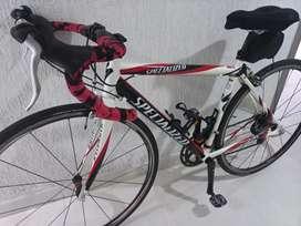 Linda bicicleta de ruta