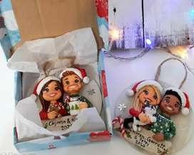 Figuras navideñas personalizadas