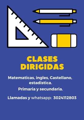 Clases dirigidas a domicilio en toda Cartagena