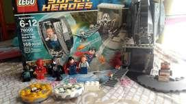 Set lego superman, 5 figuras 170 piezas y obsequio