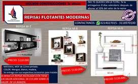 REPISAS FLOTANTES 3