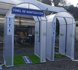 TUNEL   DE  SATINIZACION