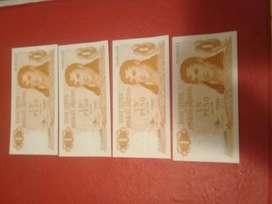 Billetes Argentinos Antiguos . en Serie.