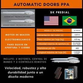 Motor De Brazos Puerta De Garaje Batiente Ppa Americano