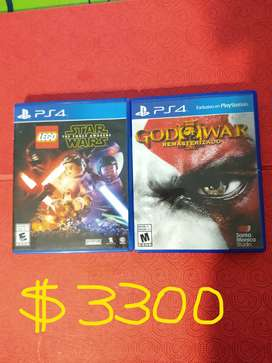 Juegos PS4 juntos o separados