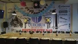 Negocio comercial - restaurante QUECHUA