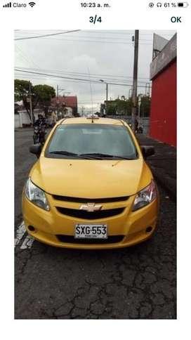 Taxi en buenas condiciones