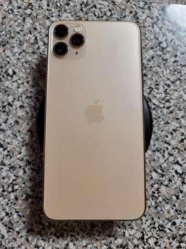 iPhone 11 Pro Max 256 GB DORADO con cargador nuevo
