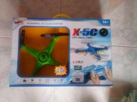 Vendo Drone Cuadroptero E 4 Canales