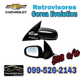 Repuesto Retrovisores Corsa Evolution