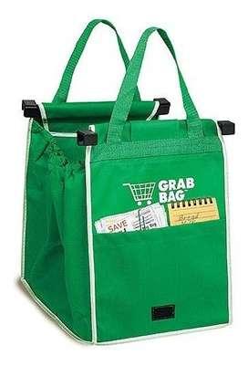 Bolsas Ecológicas Setx2 Reutilizables Para Mercado Grab Bag + obsequio