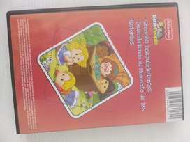 Dvd Infantil De Imaginext Y Fisher Price
