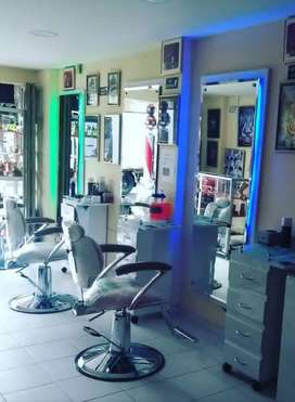 Muebles de peluquería y barbería