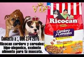 Alimento  para perros RICOCAN CORDERO Y CEREALES