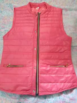 Chaleco rosa de dama