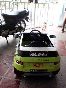 Carro bateria con usb control remoto
