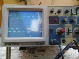 OSCILOSCOPIO PINTEK PS-200 20 MHZ