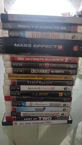 Vendo juegos de playstation 3