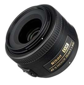 NIKON 35MM 1.8G CON MOTOR DE ENFOQUE AHORA 12-18 DIGIOFERTAS CBA LOCAL GARANTIA ORIGINALES!