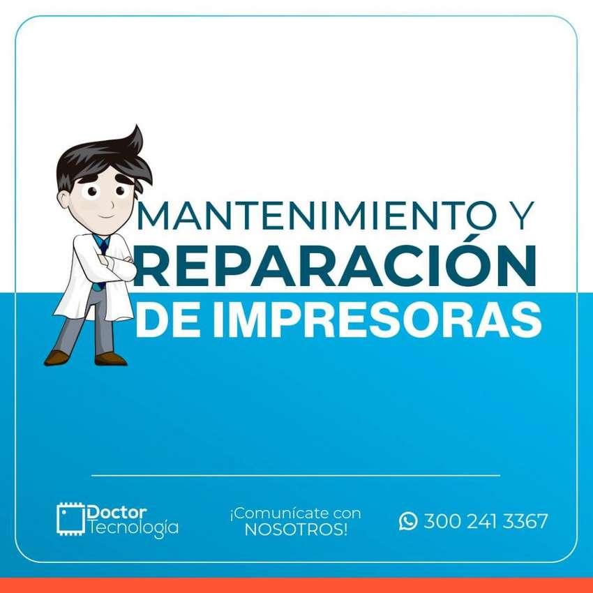 MANTENIMIENTO Y REPARACIÓN DE  IMPRESORAS, TAMBIEN A DOMICILIO. 0