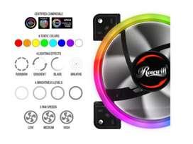 VENTILADOR RGB DIRECCIONABLE PC MARCA ROSEWILL