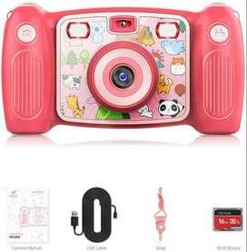 Cámara fotografía para niños ViCTURE con vídeo profesional de 1080p e imagen 12MP, función anti vibración incorporada