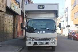 Camion furgon pocos kmts, con rampa de cargabd 1.5ton