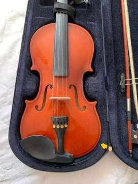 Instrumento de cuerda, violin 4/4 cervini cremona en perfecto estado