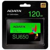 DISCO DURO SOLIDO ADATA SSD  SU650 120GB